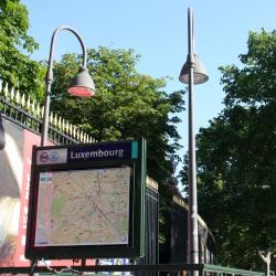สถานีเมโทรลุกซอมบูร์ก