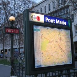 Pont Marie Metro Station