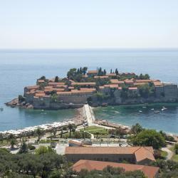 เกาะ Sveti Stefan, บุดวา