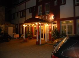 Cross-Country-Hotel Hirsch, ジンスハイム