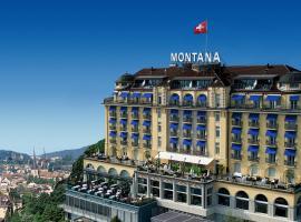 Art Deco Hotel Montana, ลูเซิร์น