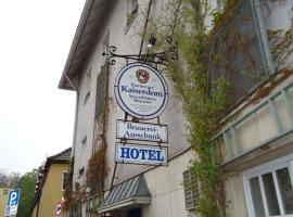 Hotel und Brauereigasthof Kaiserdom, บัมแบร์ก