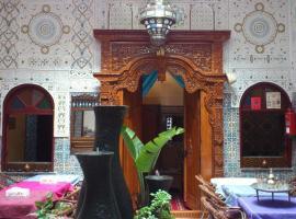 Ryad Bab Berdaine, เมคเนส