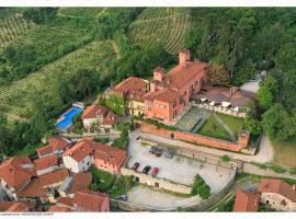 Castello Rosso, Costigliole Saluzzo
