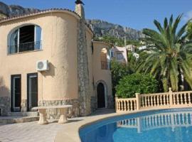 Apartment with views, pool in Alicante, La Canuta