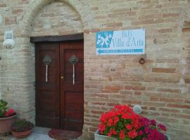 B&B Villa d'Aria, アッバディーア・ディ・フィアストラ