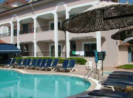 Sevgi Apart Hotel, Icmeler