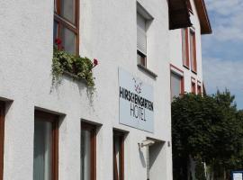 Hotel Hirschengarten, ไฟรบูร์ก อิม ไบรส์กัว