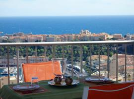 Overlooking Monte Carlo (panoramique), Beausoleil