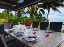 Maharepa Beach Villa, モーレア島