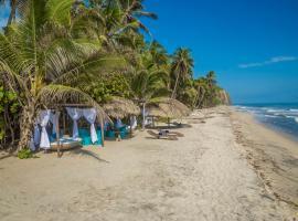 Playa la Roca Ecohotel, Palomino