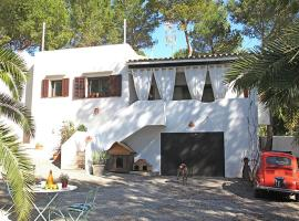 Holiday home Espalmador, Cala Llenya
