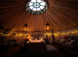 Glamping on the Hill, Mells