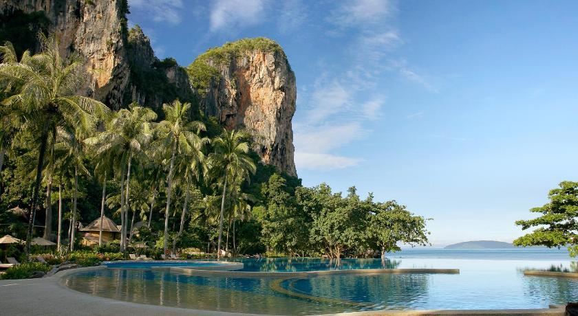 Phra Nang paplūdimyje esantis 5* viešbutis - vienas geriausių ir prabangiausių regione Krabi