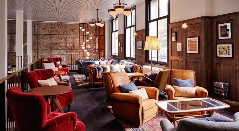 Hotel Hoxton dans le quartier des canaux à Amsterdam.
