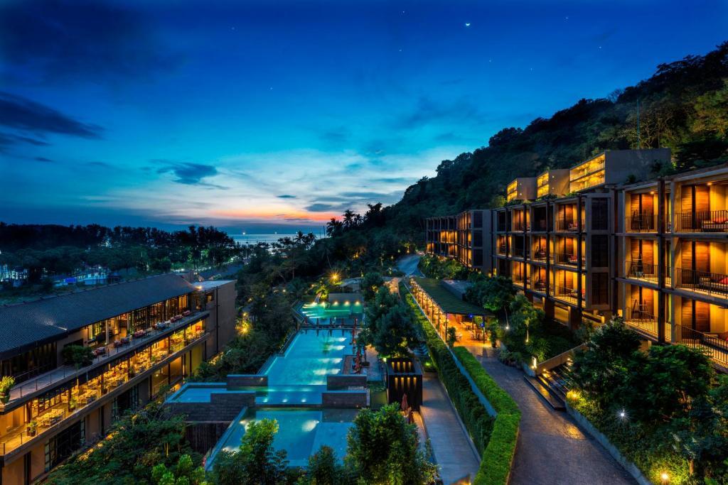 วิวสระว่ายน้ำที่ Sunsuri Phuket หรือบริเวณใกล้เคียง