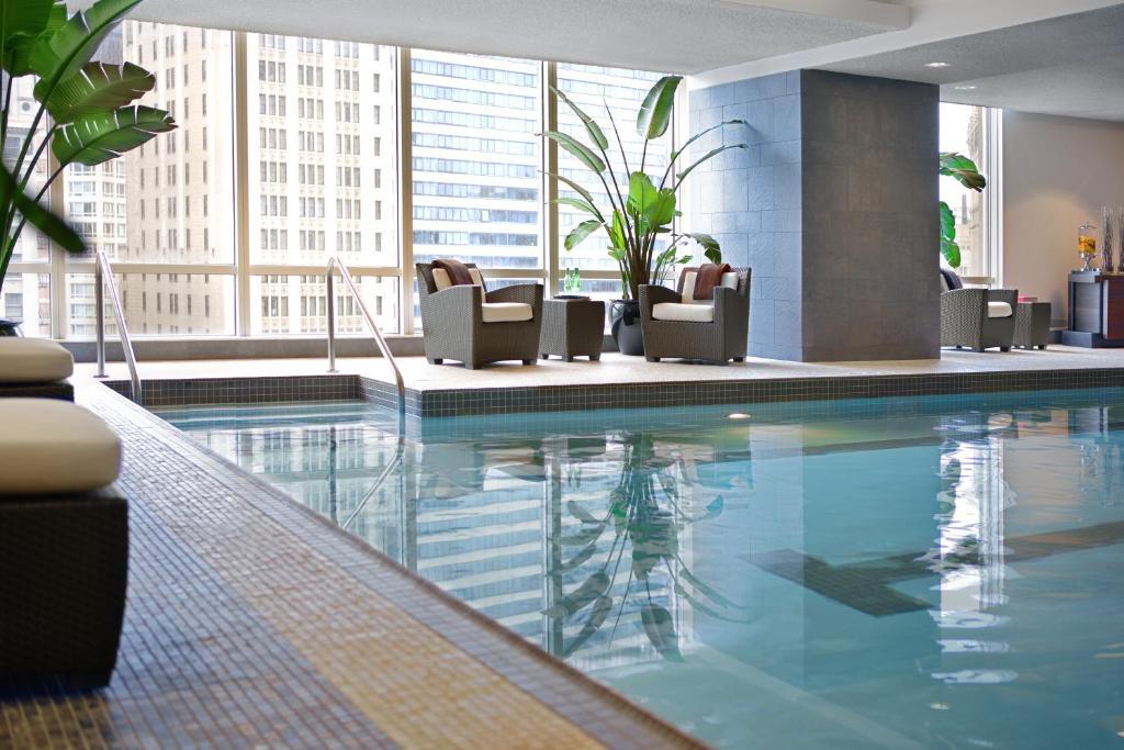 アメリカ,シカゴ,トランプ インターナショナル ホテル & タワー シカゴ(Trump International Hotel & Tower Chicago)