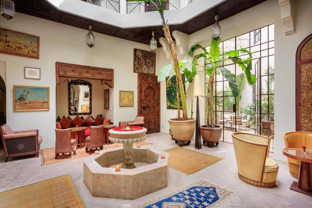 los mejores riads de marrakech