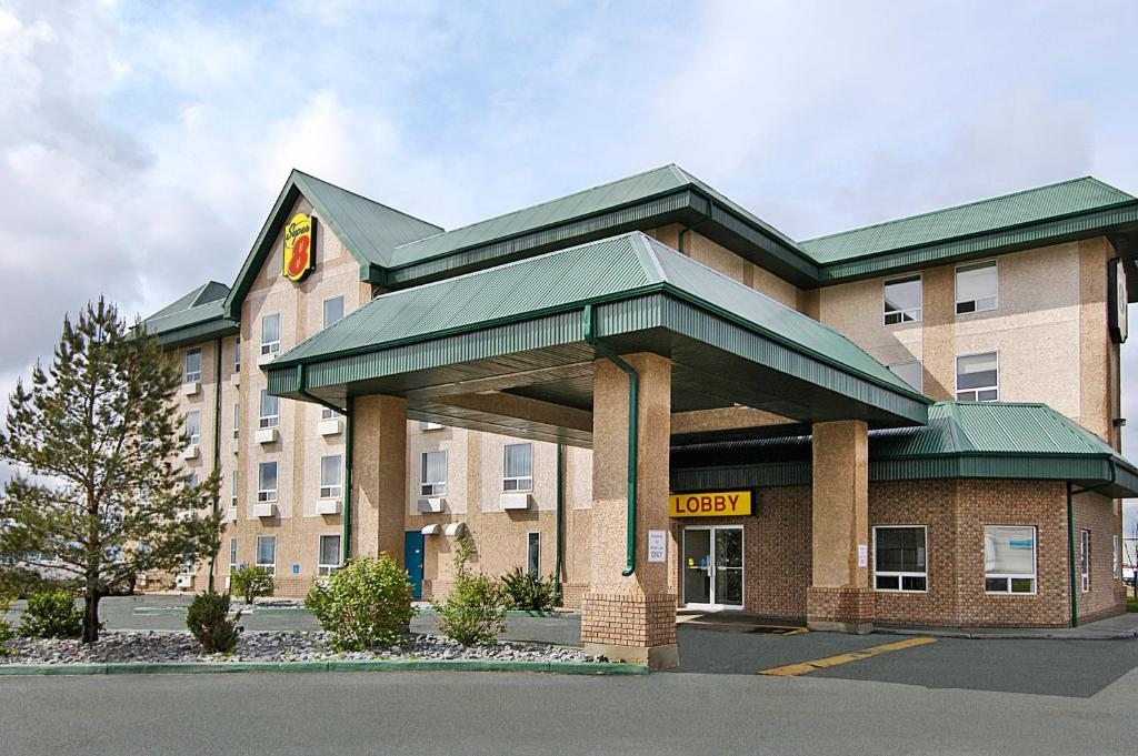 Super 8 by Wyndham Edmonton International Airport.