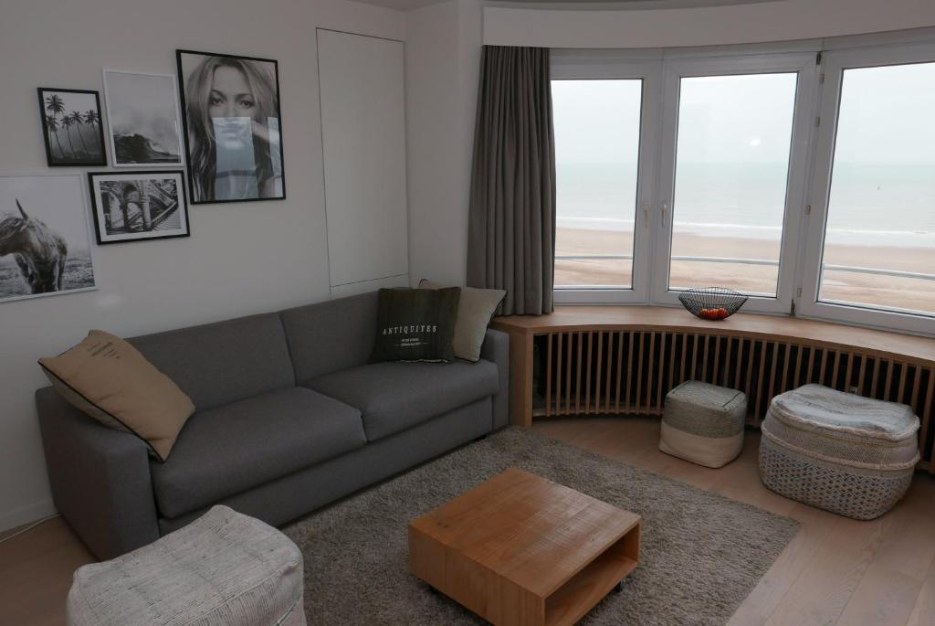 Oostende - Apt 1 Slpkmr/Chambre - Zeezicht