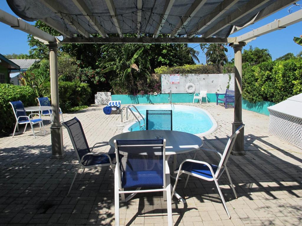 สระว่ายน้ำที่อยู่ใกล้ ๆ หรือใน Eldemire's Tropical Island Inn