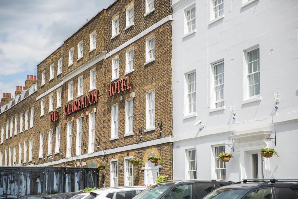 The Clarendon Hotel.