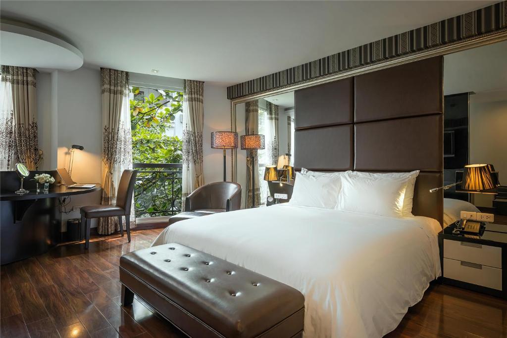 ห้องพักของ Hanoi La Siesta Diamond Hotel & Spa