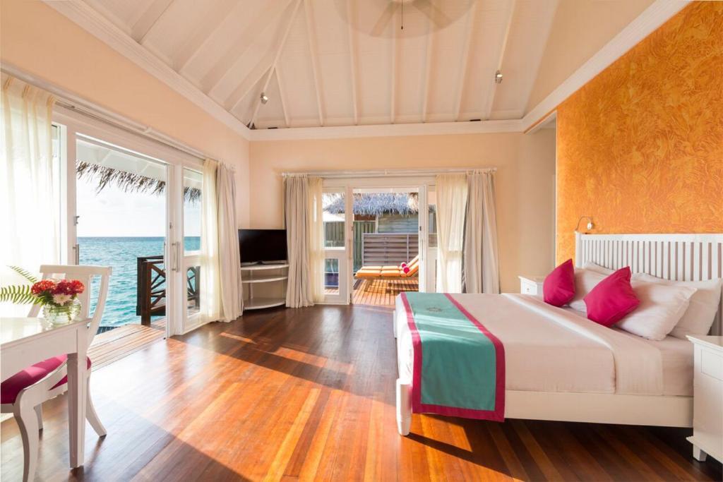 モルディブ,ヴィルー リーフ ビーチ アンド スパ リゾート(Vilu Reef Beach and Spa Resort)