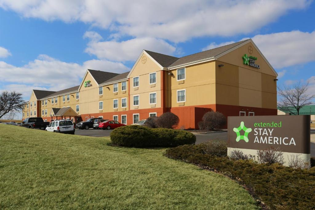 Extended Stay America Kansas City Airport.