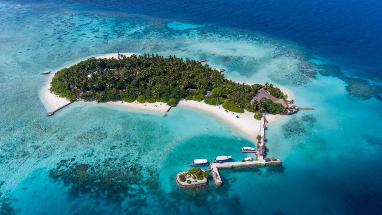Уединенный курортный отель Makunudu Island расположен на территории 2,4 га рядом с тропическим пляжем, всего в нескольких шагах от живописных мест для дайвинга. При отеле работает школа дайвинга с обучением по системе PADI и центр водных видов спорта, где можно покататься на водных лыжах и заняться виндсерфингом.
