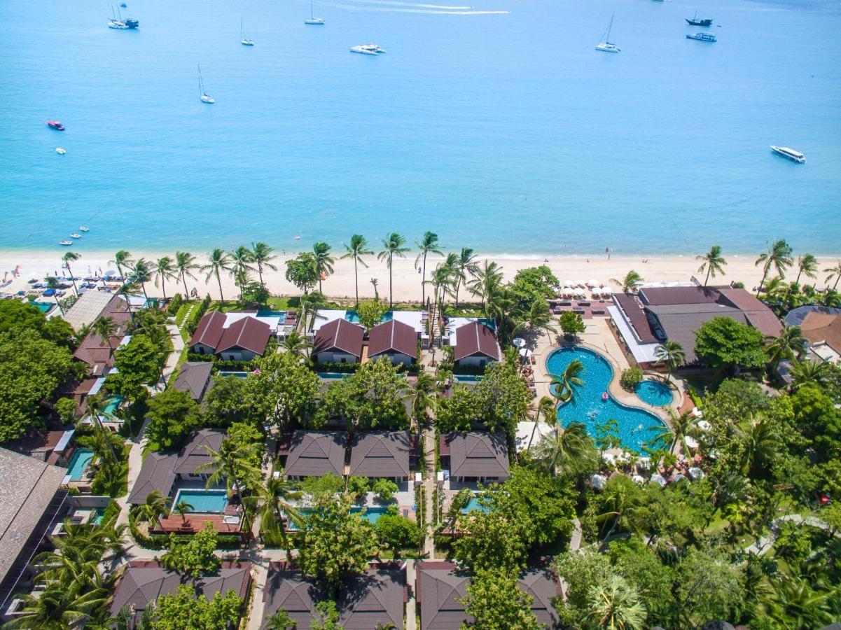 Een luchtfoto van Peace Resort