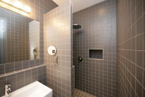 ห้องน้ำของ Hôtel Particulier Appartements d'Hôtes
