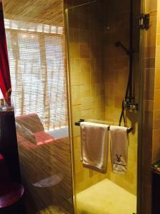 ห้องน้ำของ Queen's 100