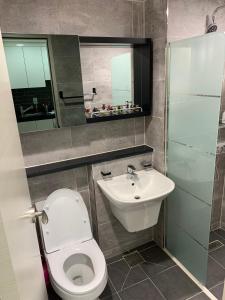 ห้องน้ำของ Hongdae JD house