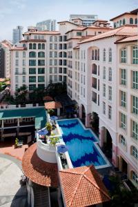 วิวสระว่ายน้ำที่ Fraser Place Robertson Walk Singapore หรือบริเวณใกล้เคียง