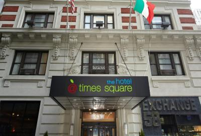 the hotel at times square new york city ny. Black Bedroom Furniture Sets. Home Design Ideas