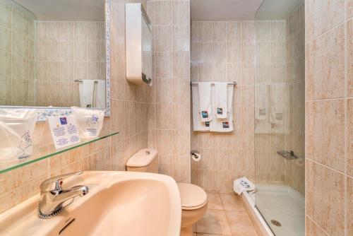 ห้องน้ำของ Apartamentos Morasol