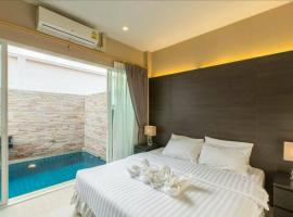 AnB Poolvilla Modern 3BR Jomtien at The ville in Pattaya