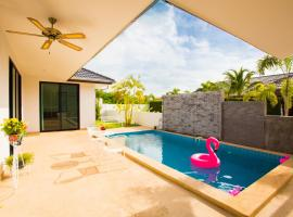 mil pool villa whit three bedrooms 私家泳池别墅