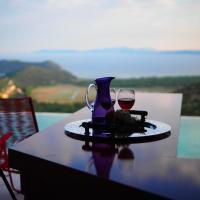 Red Grey Sea View Villa